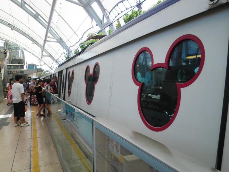 Mickey Mouse Train Windows