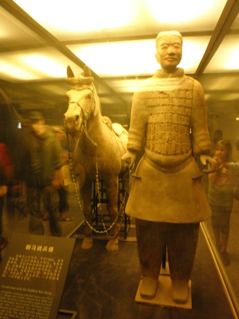 Horse and Warrior