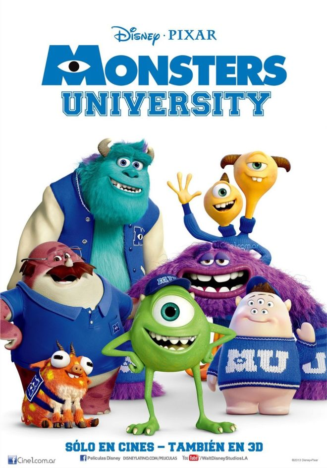 Monsters University - International Poster 1
