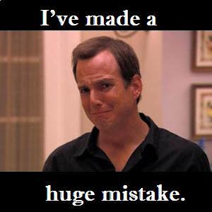 Huge mistake